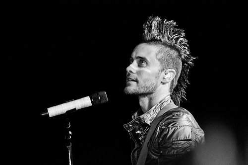 30 Seconds to Mars Jared Leto on Stage