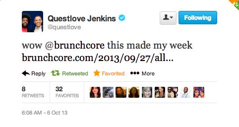 questlove twitter brunchcore